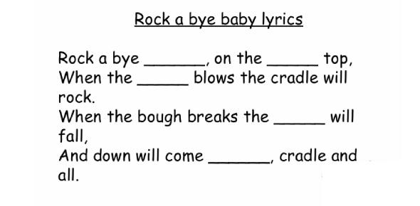 Nursery Rhymes Quiz: Exam!
