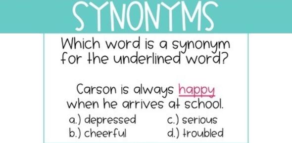 Synonyms Test: Trivia Quiz!