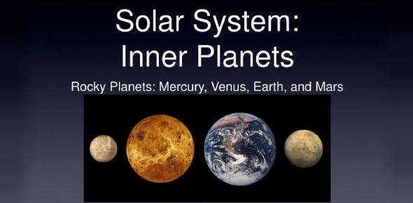 Inner Planets Of Solar System Quiz! Trivia