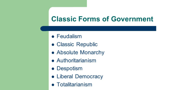Trivia Test: Forms Of Government Quiz