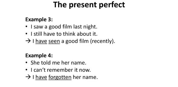 English Test On Present Perfect Simple! Trivia Quiz