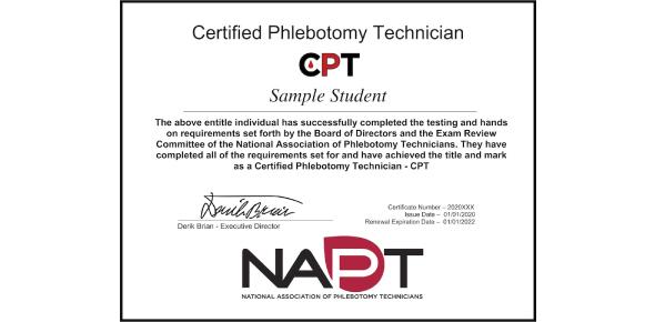 Medicines: Phlebotomy Technician Certification (CPT) Practice Quiz!