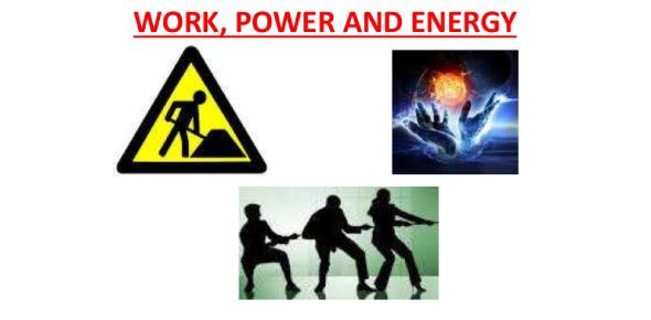 Quiz: Work, Power And Energy