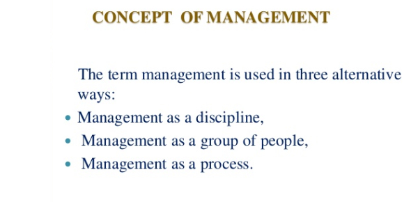 Management Concepts Quiz
