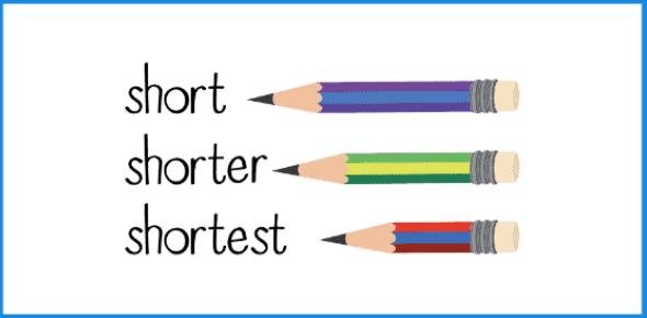 Comparative And Superlative Test: Quiz