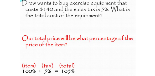 Sales Tax, Tips And Markup Test Quiz!
