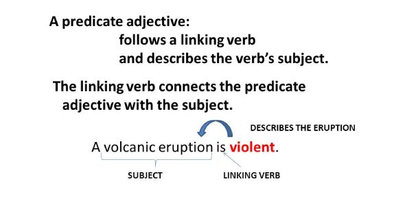 English Grammar- Predicate Adjectives Quiz