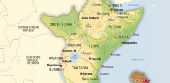 Ch. 22 SEC 1 East Africa Geography