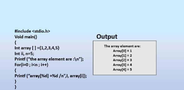 Quiz: Array Programming In C Language!