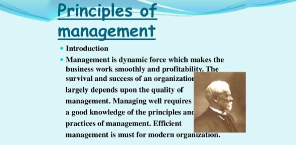Chapter 1: Principles Of Management Quiz