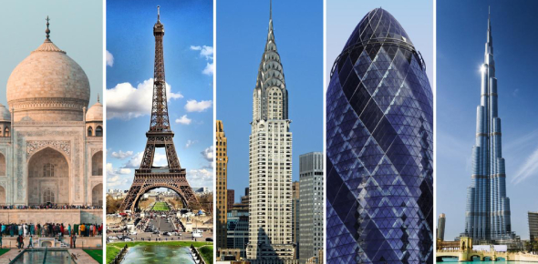 Can You Identify These Famous Buildings? Trivia Quiz