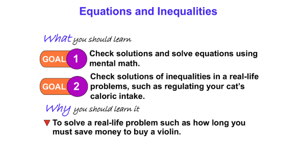Equations And Inequalities Test! Math Trivia Quiz