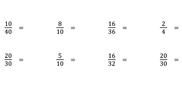Comparing And Simplifying Fractions: Quiz