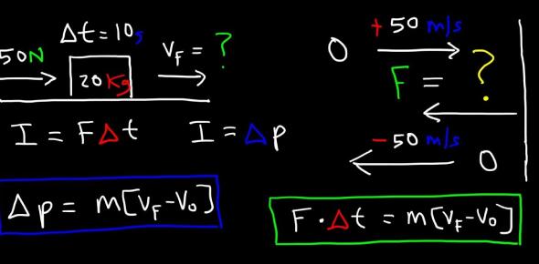 Impulse And Momentum Quiz Under Mr Tan