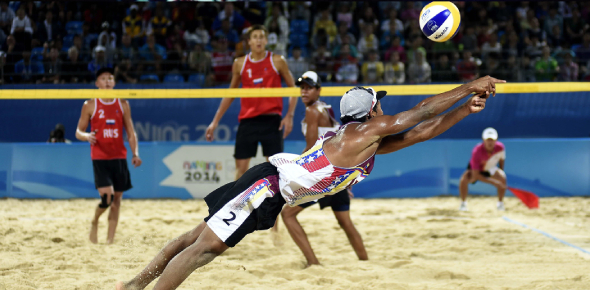 Olympic Beach Volleyball Game! Trivia Quiz
