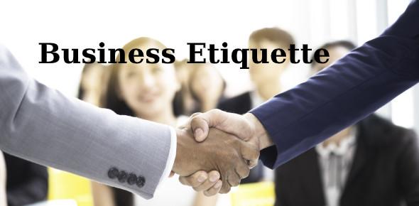 Business Etiquette Knowledge Test: Quiz