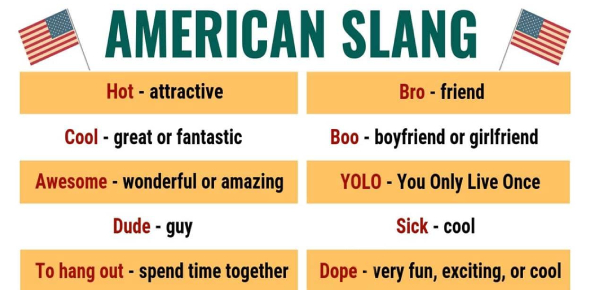 Test Your Knowledge About The Everyday American Slang