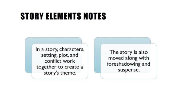 Story Elements Test! Trivia Quiz