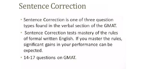 Sentence Correction Exam Quiz! Trivia