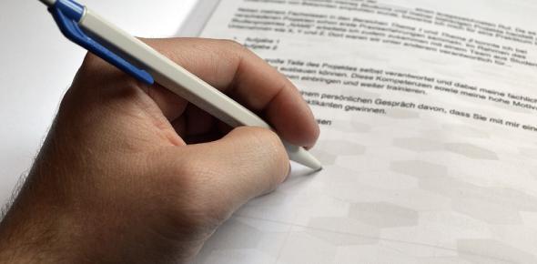 Application Letter Format Test! Trivia Quiz
