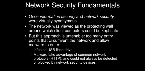 Fundamentals Of Network Security! Trivia Quiz