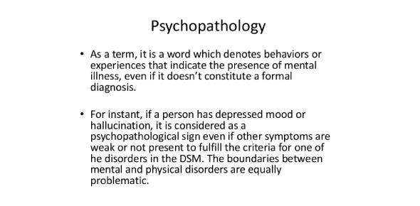 Important Quiz Questions On Psychopathology!