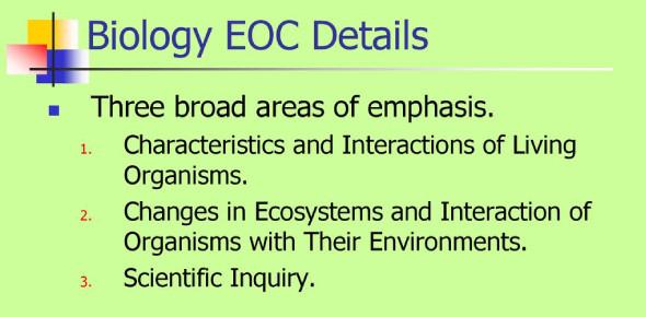 Trivia On Biology EOC Practice Test! Quiz