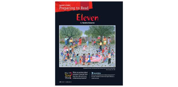 Eleven: Short Story Questions! Trivia Quiz