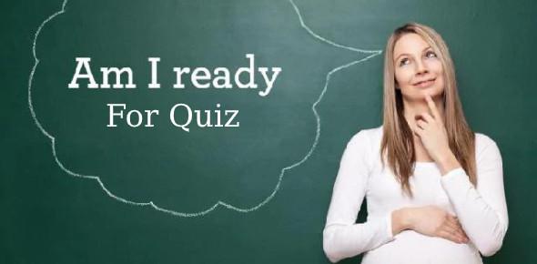 Am I Ready For Quiz