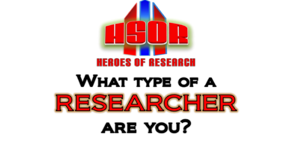 What Type Of A Researcher Are You?