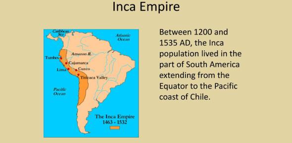 Inca Empire Geography Questions! Trivia Quiz