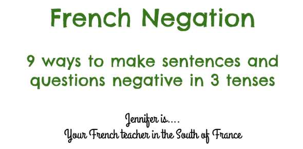 French Negation 1