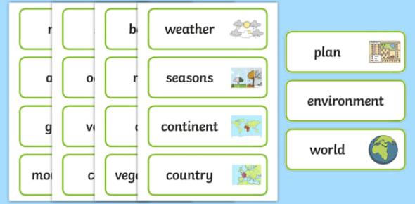 Geography Vocabulary Quiz! Trivia Test