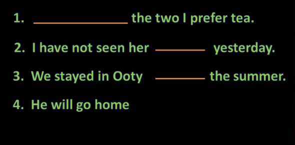 Prepositions Quiz: Fill In The Blanks!
