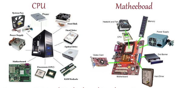 Identify The Computer Hardware Components! Quiz