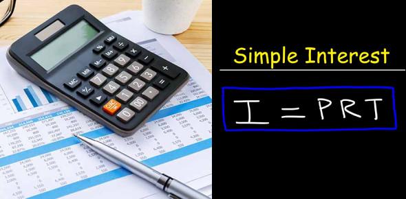 Calculation Of Simple Interest Quiz