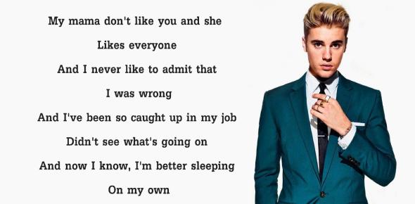 Ultimate Justin Bieber Lyrics Quiz! Trivia