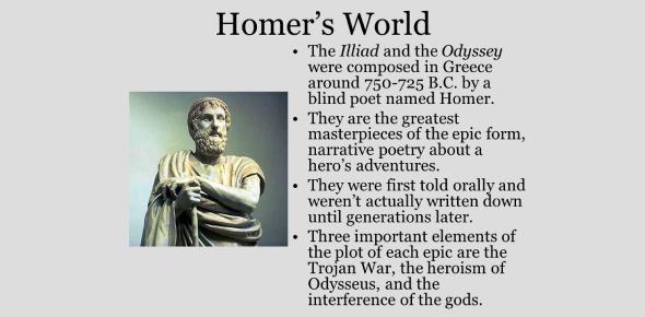 Odyssey Poem By Homer: Trivia Quiz