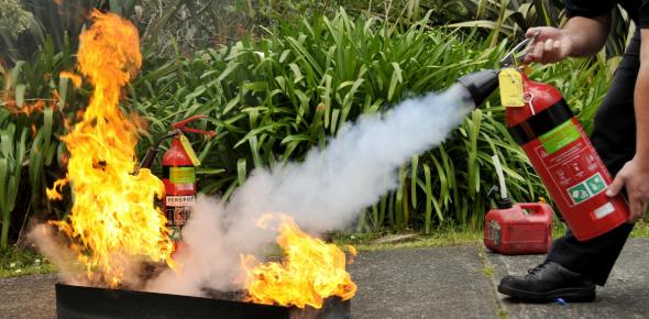 Fire Extinguisher Training Quiz: Trivia!