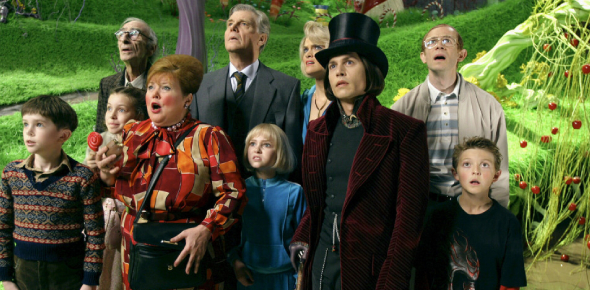Charlie And The Chocolate Factory (2005) Movie Quiz