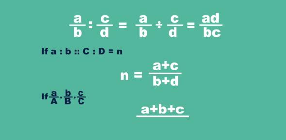Ratio And Proportion Exam Quiz!