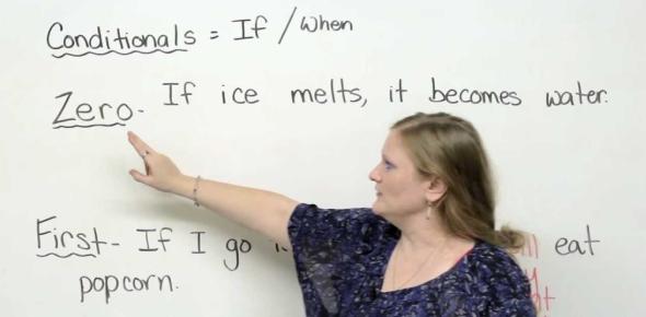 English Grammar Test: Zero And First Conditionals