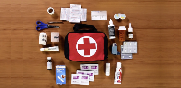 First Aid Kit Contents Quiz - Whats That Picture??