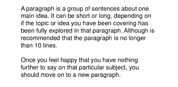 The Paragraph Quiz To Test Your Understanding