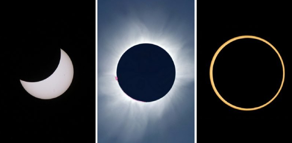 A Trivia Quiz On Types Of Eclipses!