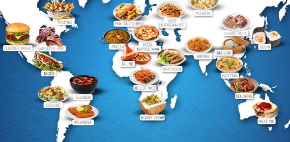 Food Around The World - ProProfs Quiz