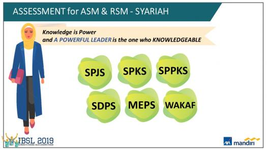 Product Knowledge Assessment For Asm & Rsm Syariah