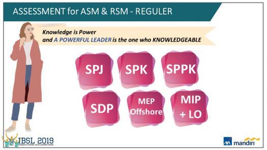 Product Knowledge Assessment For Asm & Rsm Reguler