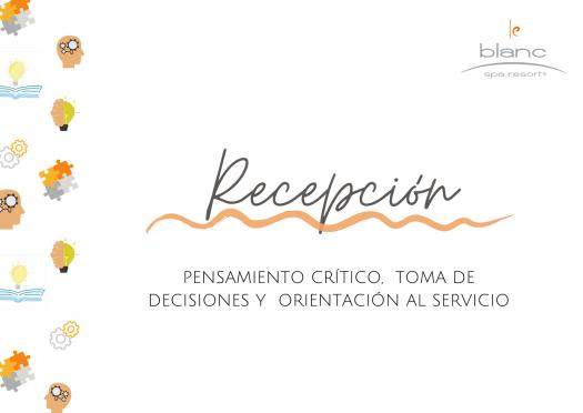 Pensamiento Cr�TICO, Toma De Decisiones Y Orientaci�n Al Servicio