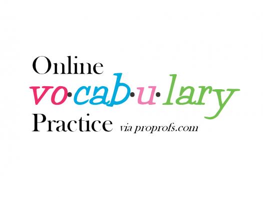 Online Vocabulary Practice # 4 (Senior) - 28 January